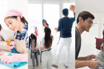 ข้อดีของการฝึกลูกทำงานบ้าน