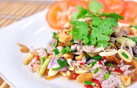 ยำกุ้งนางตะไคร้หอม  อาหารรสแซ่บที่คนท้องกินได้