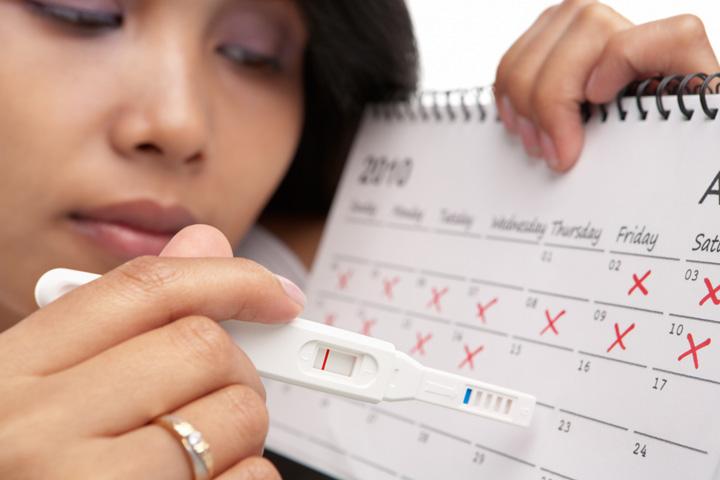 อาการคนท้อง ประจำเดือนขาด