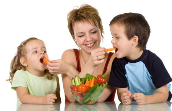 เทคนิคช่วยให้ลูกทานผัก ได้มากขึ้น