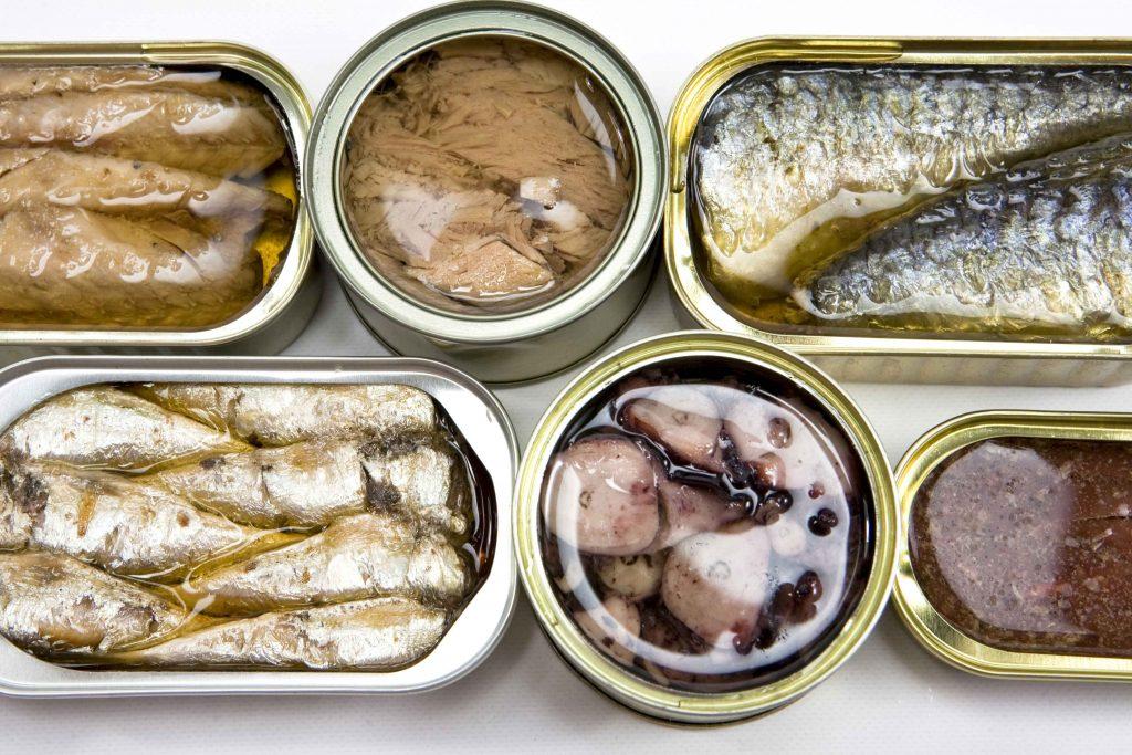 อาหารโซเดียมสูงคนท้องควรเลี่ยง ประเภทยอาหารกระป๋อง