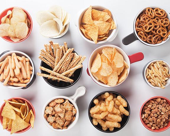 อาหารโซเดียมสูงคนท้องควรเลี่ยงประเภทอาการกรุบกรอบ